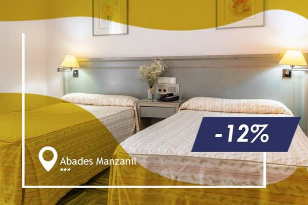 Early booking offer 12% abades manzanil 3* hotel loja