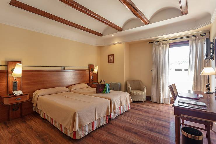 Chambre double usage individuel hôtel abades guadix 4*