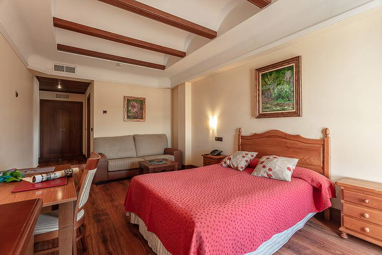 Double room abades guadix 4* hotel