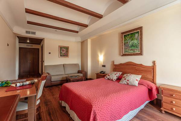 Double room Abades Guadix 4* Hotel in Guadix