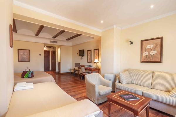 Double Room with an extra bed (3 adults) Abades Guadix 4* Hotel in Guadix