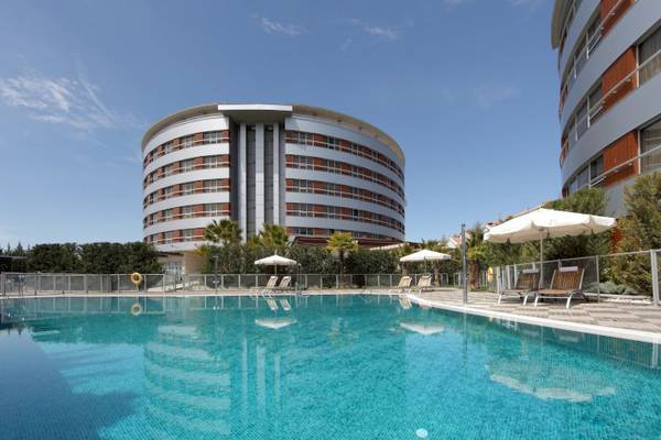 Outdoor pool and solarium terrace abades nevada palace 4* hotel granada