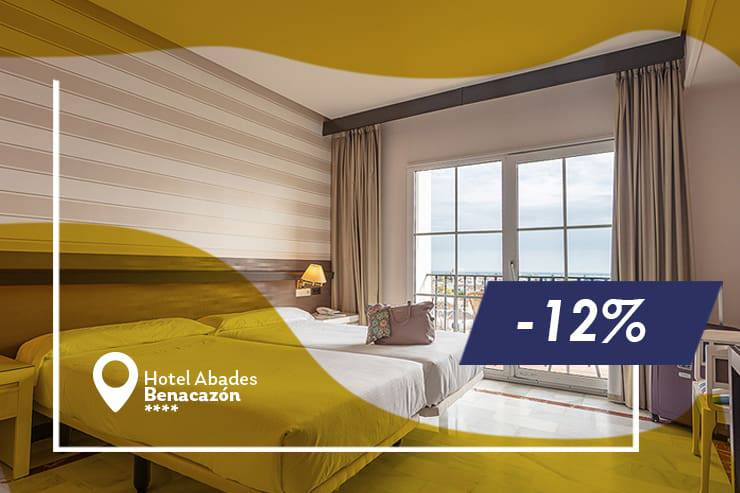 Early booking offer 12% hotel abades benacazón 4*