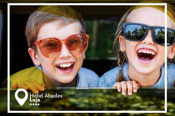 Kids stay free deal and early booking - summer 2020 abades loja 3* hotel