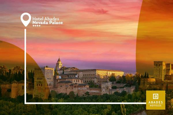 Stay longer – 15% discount abades nevada palace 4* hotel granada