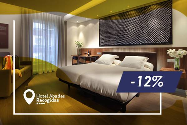 Early booking offer 12% abades recogidas 4* hotel granada