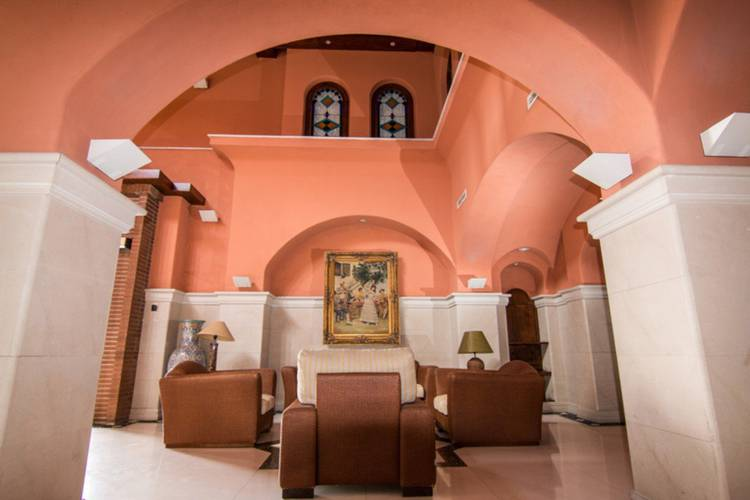 Empfangshalle Abades Guadix 4* Hotel Guadix