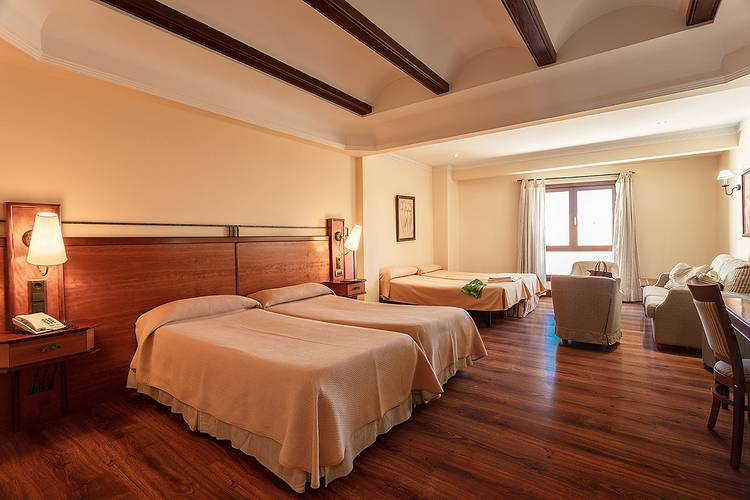 Double room with an extra bed (3 adults) abades guadix 4* hotel
