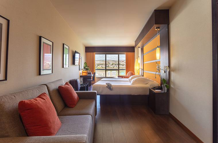 Superior double room hotel abades nevada palace 4* granada