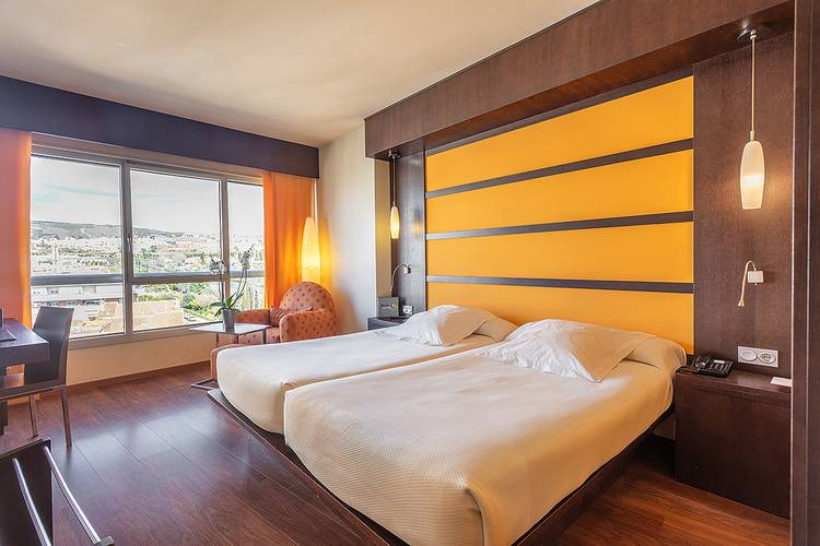 Double room for individual use abades nevada palace 4* hotel granada