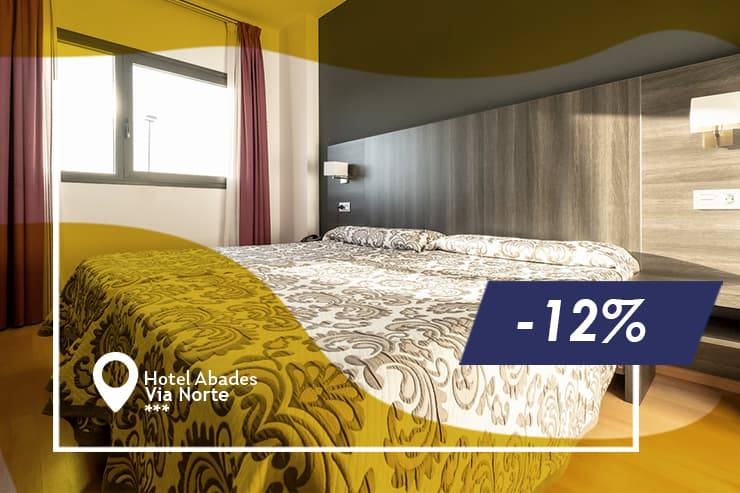 Early booking offer 12% hotel abades vía norte 3* miranda de ebro