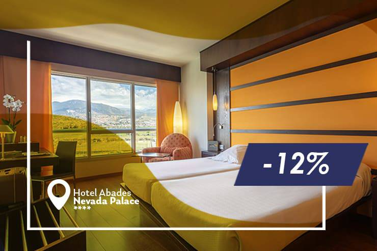 Early booking offer 12% hotel abades nevada palace 4* granada