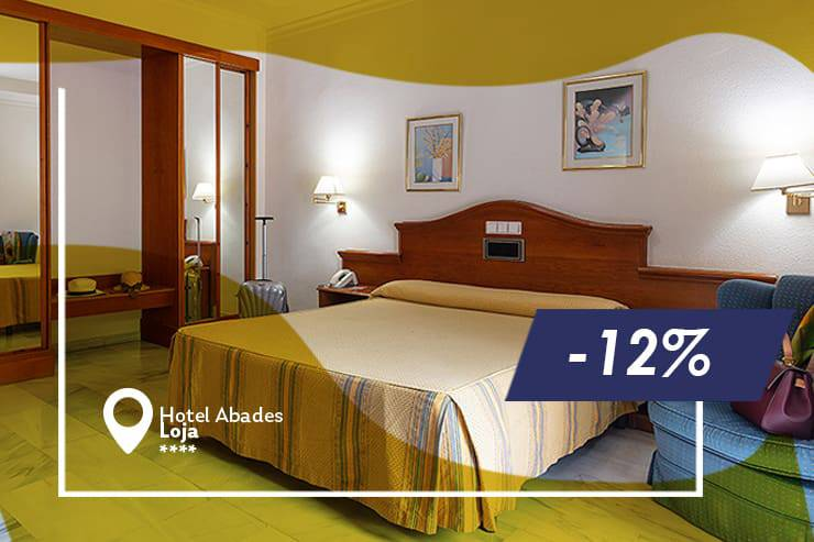 Early booking offer 12% abades loja 3* hotel