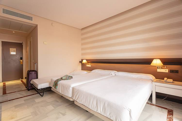 Double room plus extra bed (3 adult) abades benacazón 4* hotel
