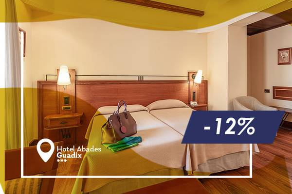 Early booking offer 12% abades guadix 4* hotel